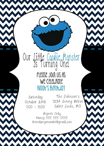 Custo (Cookie Monster Party Supplies)