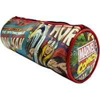 Writing Storage Marvel Comics Tubular Pencil Case, (NB50005)