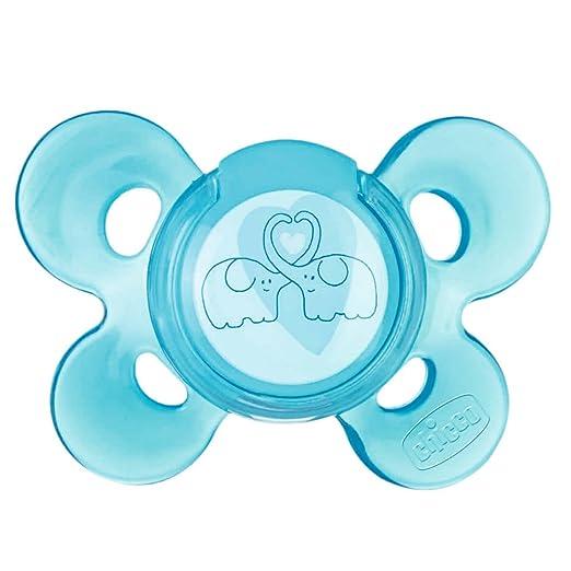 30 opinioni per Chicco 72813210000 Physio Comfort Succhietto, Silicone, 4 Mesi+, Blu