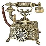 Antique Phone - Grand Emperor 1933 Rotary Telephone - Corded Retro Phone - Vintage Decorative Telephones