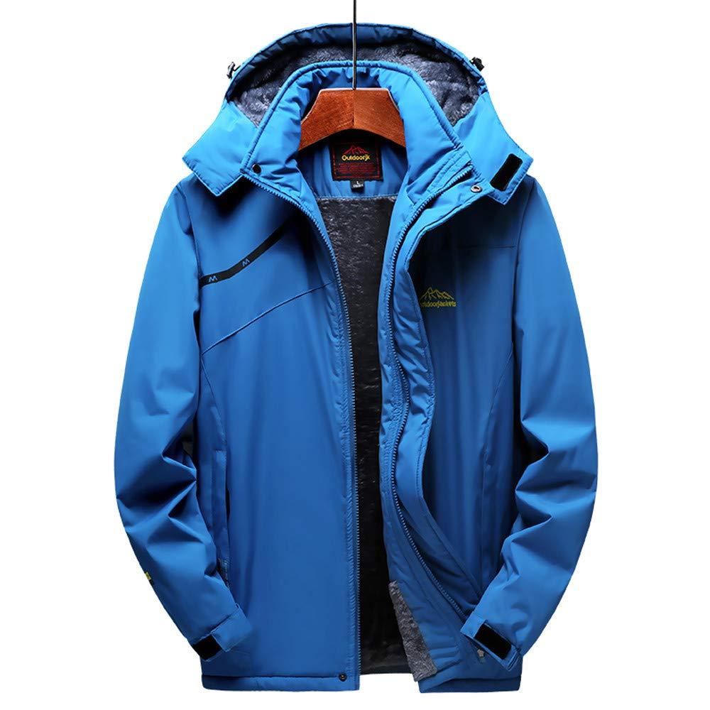 Mens Winter Outdoor Cashmere Jacket G-Real Fashion Thickening Hoodie Zipper Sport Outdoor Assault Coat