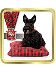 Stewart's Luxury Scottish Fudge - Scottie on Tartan Cushion - 100g