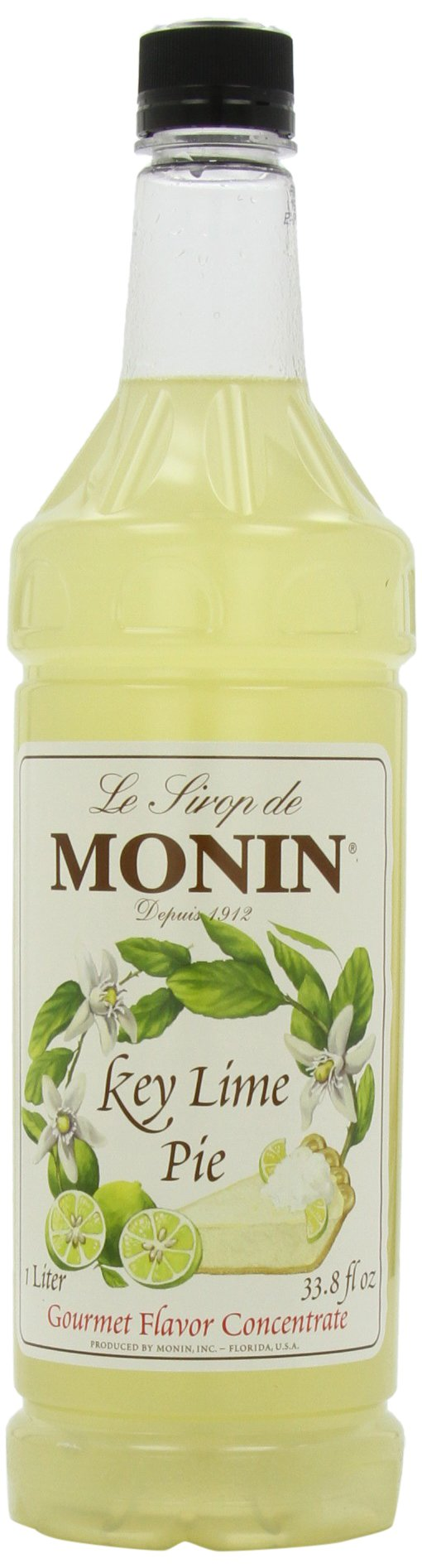 Monin Key Lime Pie, 48-Ounce Packages (Pack of 4) by Monin
