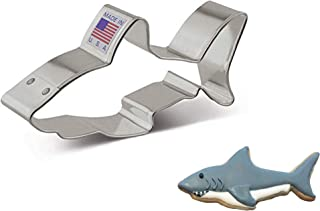 """product image for Ann Clark Cookie Cutters White Shark Cookie Cutter, 4"""""""