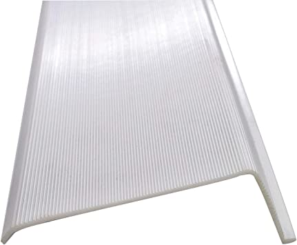 """42/"""",47-7//8/"""" Under Cabinet White Ribbed Acrylic Replacement Diffuser Cover USA"""