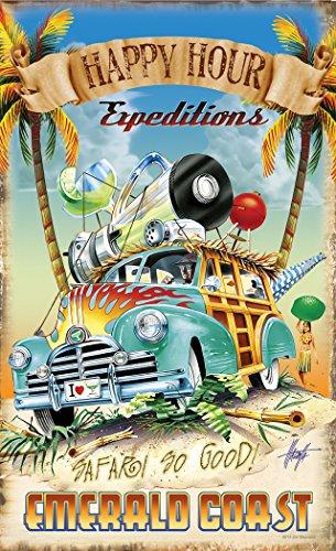 Northwest Art Mall JM-6830 HHE Emerald Coast Florida Happy Hour Expeditions 11