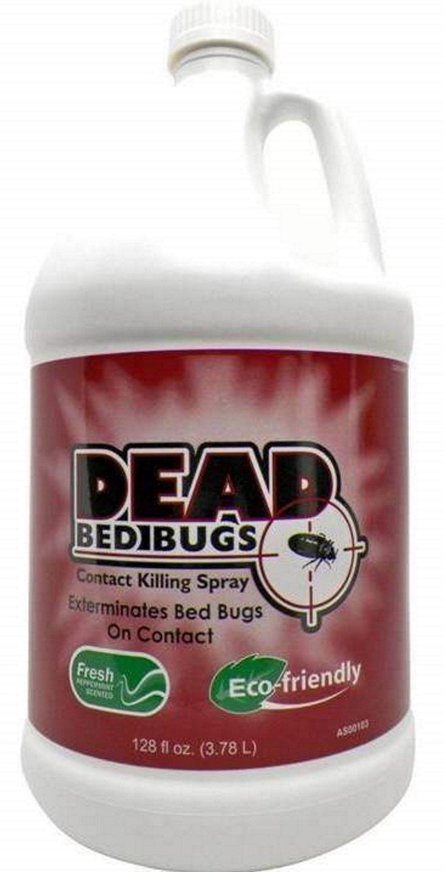 Dead Bed Bugs Contact Killing Spray, Safe - Non-Toxic Bed Bug Killer -1 Gallon(3.78Litres/128Fl Oz) by Dead Bed Bugs