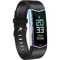 """BLACK MAMUT Smart Watch Reloj Inteligente Color Tornasol, Deportivo y Elegante, Medidor de Distancia, Ritmo Cardiaco, Prensión Cardiáca, Conteo de Pasos Podómetro, Contador de Calorías, Conexión Vía Bluetooth Compatible con Dispositivos iOS y Android con la Aplicación """"Yoho Sports"""""""