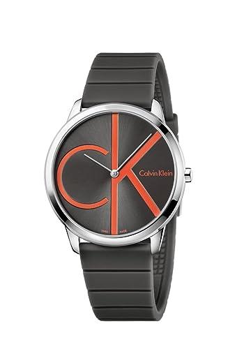 Calvin Klein Minimal K3M211T3 Reloj de Pulsera para Hombres Clásico & Sencillo