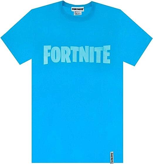 Vanilla Underground Fortnite Logo Niños Camiseta Azul Battle ...
