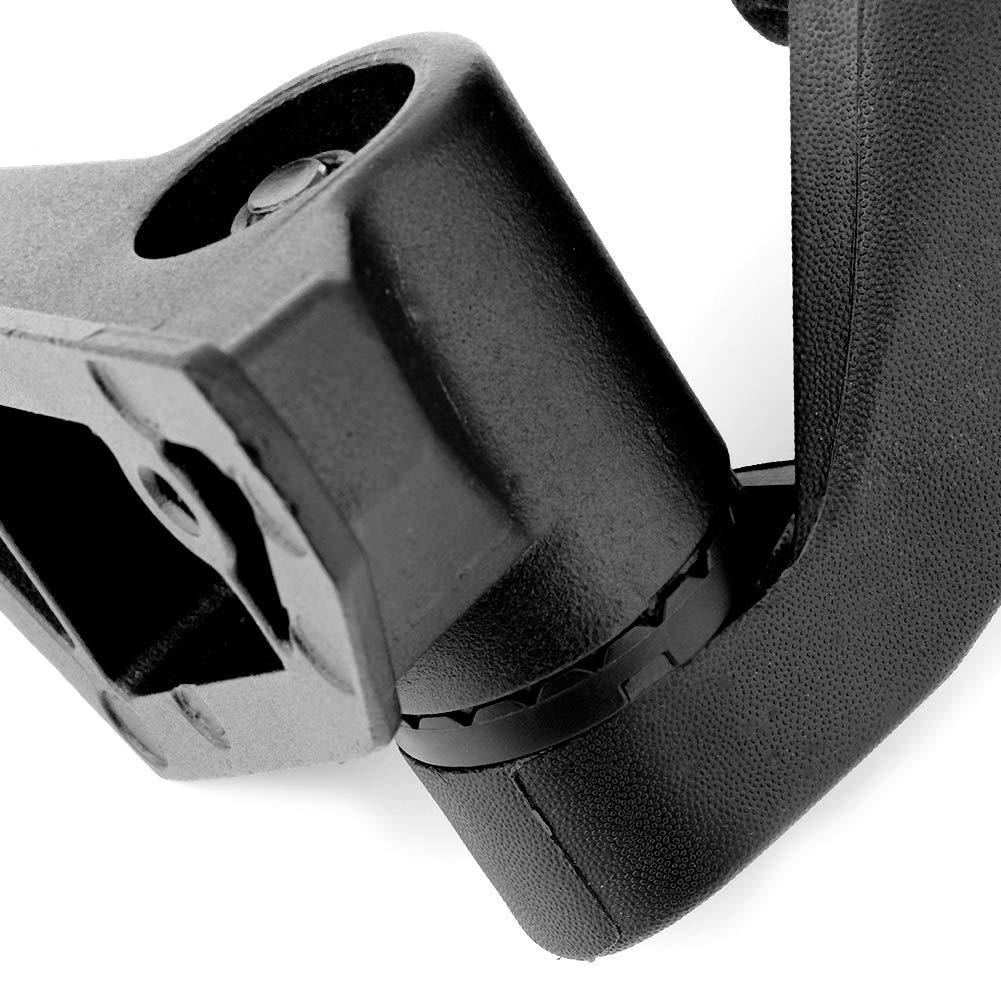 vidrio UTV modificado a prueba de golpes Espejo retrovisor retrovisor lateral ajustable para Maverick X3 2017-2018 Duokon Espejo retrovisor ABS