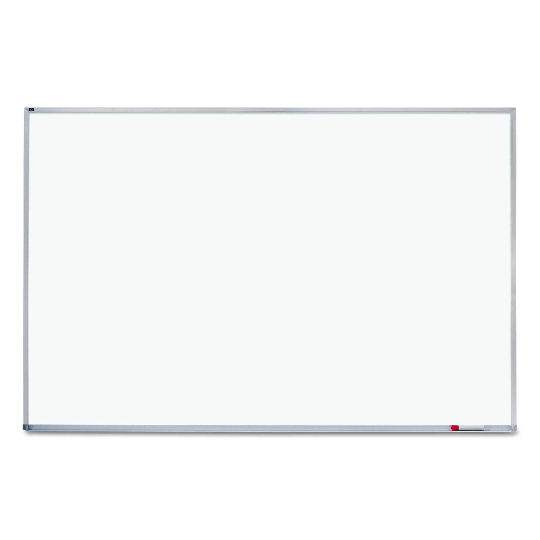 Quartet Whiteboard, 4' x 6', Aluminum Frame (EMA406) by Quartet