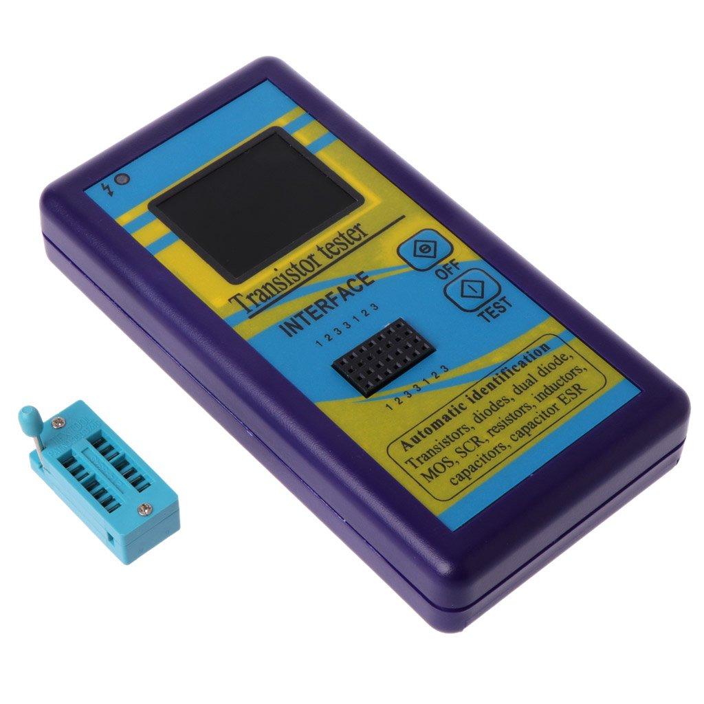 M328 Multi-Purpose Transistor Tester Diode Resistor ESR Capacitance LCR Meter by LOLOVI