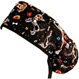 5c064faab Big Hair Women's Scrub Cap - X-Ray Cats at Amazon Women's Clothing ...