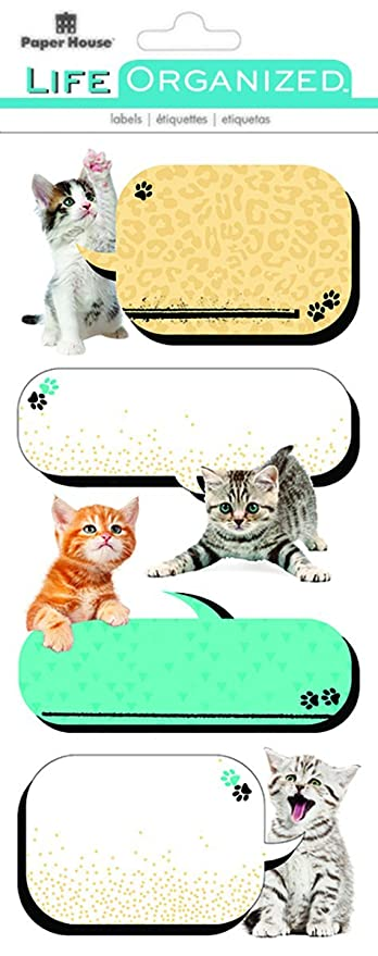 Paper House Productions STLB-0007E Planner Label Stickers