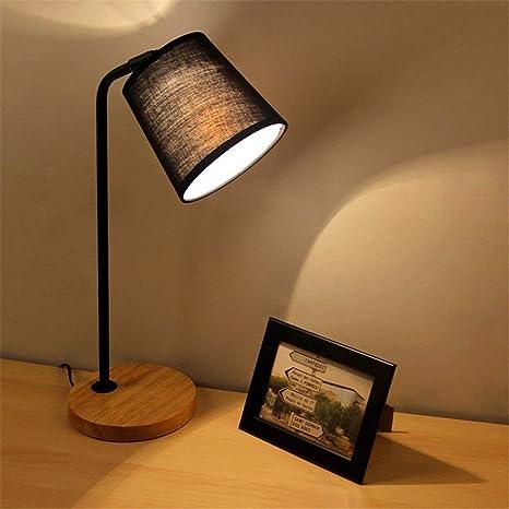 HAIYUGUAGAO Lámpara de mesa-Led cabecera de dormitorio ...