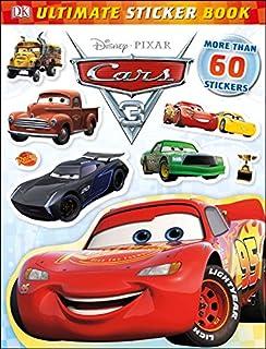 ultimate sticker book disney pixar cars 3 ultimate sticker books - Disney Cars Books