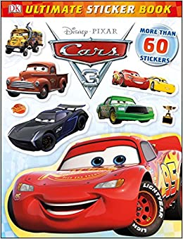 ultimate sticker book disney pixar cars 3 ultimate sticker books lauren nesworthy 9781465455604 amazoncom books