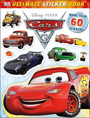 Disney/Pixar CARS 3 - Details & Downloadable Activity Sheets #Cars3 - Ultimate Sticker Book: Disney Pixar Cars 3 (Ultimate Sticker Books)