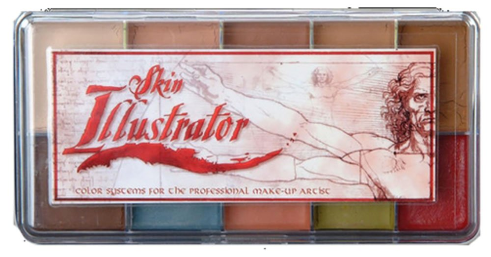 Skin Illustrator Palette Flesh Tone 10 Shade