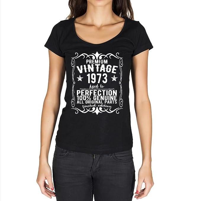 1973 vintage año camiseta cumpleaños camisetas camiseta regalo: Amazon.es: Ropa y accesorios