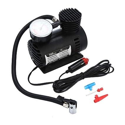 Amazon.com: 12V Portable Mini Air Compressor 300 PSI Car Van Bike Tyre Inflator: Car Electronics