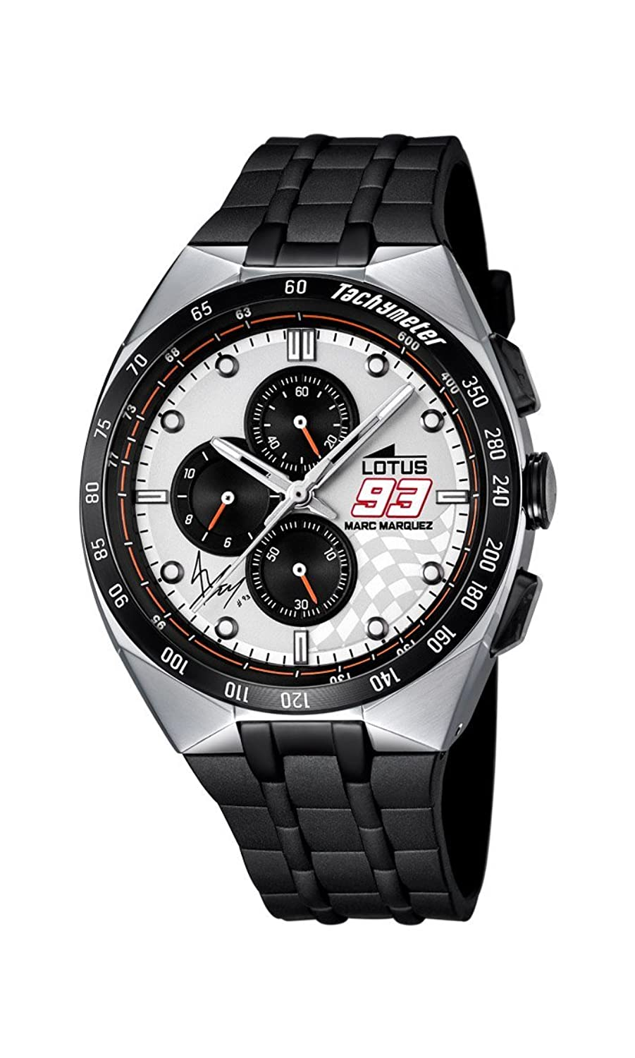 Amazon.com: LOTUS Watch Marc Marquez Male Chronograph - 18235-1: Lotus: Watches