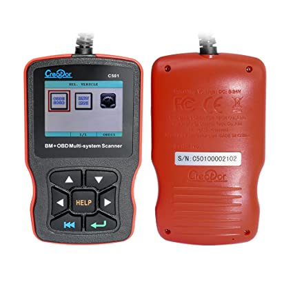 Creator C501 Full System Scan Tool for BMW Code Reader with OBDII EOBD  Engine Fault Scanner