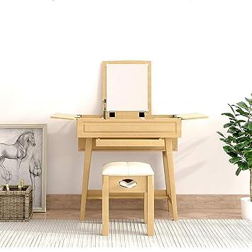 Amazon.de: Laptopständer DD Wood Art - Schminktisch Schlafzimmer ...