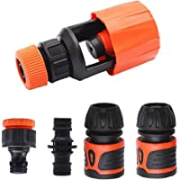 Tap Connector Set Adjustable Kitchen Hose Fitting Adapter for Join Hose Pipe Tube Connector Adapter Garden