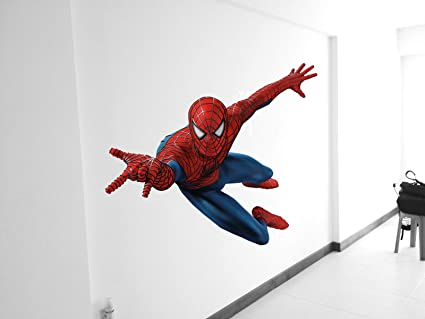 Buy DECOR Kafe Decal Style Spiderman Wall Sticker, Poster (Pvc Vinyl ...