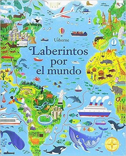 Cuadernos de actividades de verano. Laberintos por el mundo