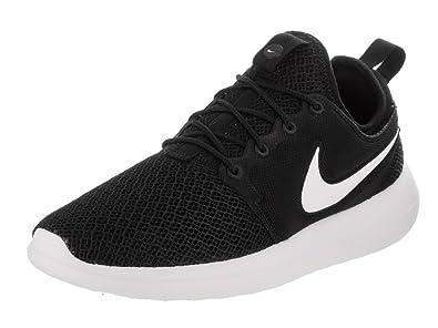 e6f778ed02d5 Nike Womens Roshe Two Black Black White Running Shoe 7 Women US