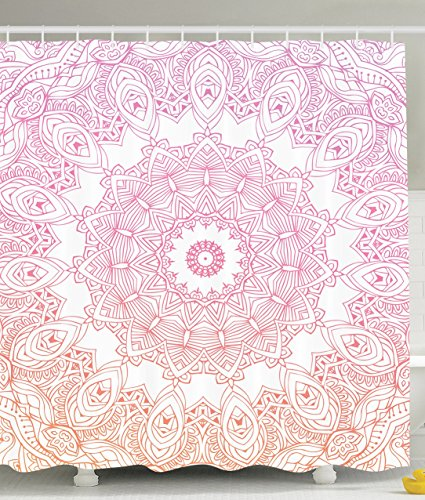 Ambesonne Medallion Abstract Geometric Polyester