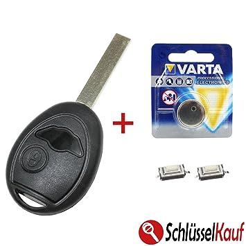 Mini Car Key 2 Button Shell Repair Kit For Mini Amazon Co Uk