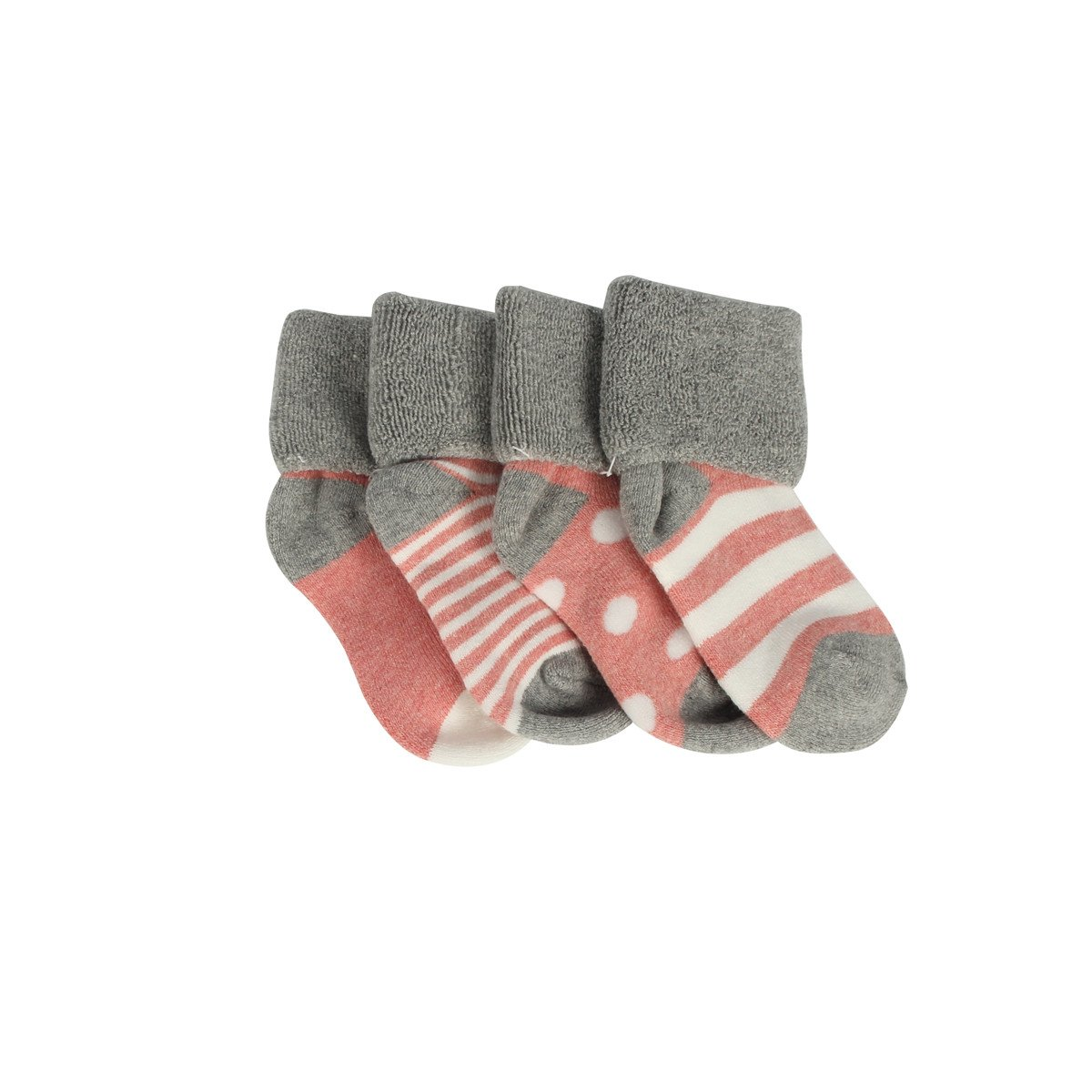 Assorted Baby Girls /& Boys 4 Pairs Anklet Socks 0-12 Months// 12-24 Months