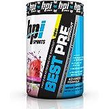 BPI Sports Best Pre Workout, 30 Servings, Watermelon Ice, 0.315 Kilograms