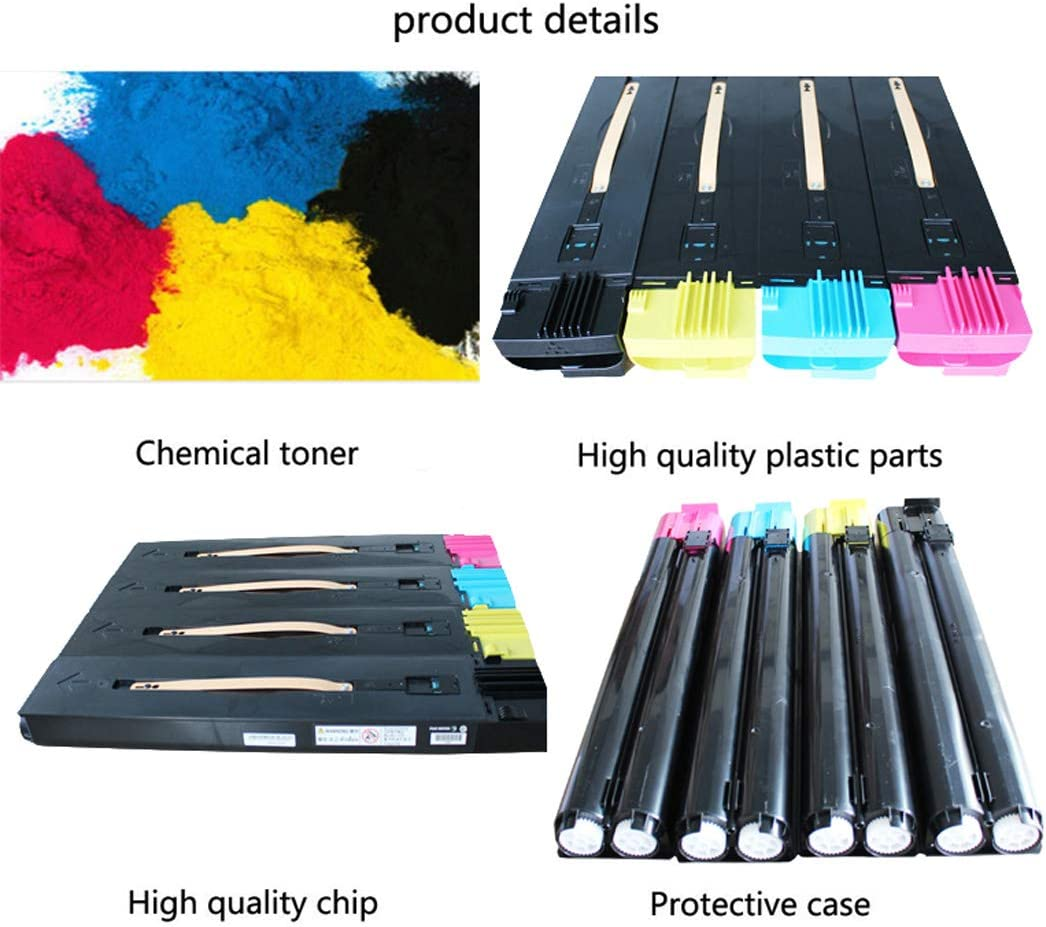 Compatible with Xerox Xerox DocuColor 240 242 250 252 260 Toner Cartridge 006R01219 4 Colors Optional,Blue