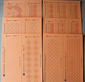 Conjunto de patrones para Aprendizaje de Encaje de Bolillos: Amazon ...