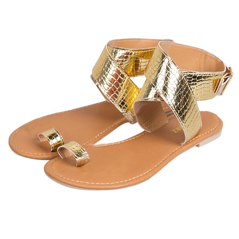 965b3679d321 Women Beach Sandals Cross Belt Rome Flip Flops Strappy Gladiator Shoes   Amazon.ca  Clothing   Accessories