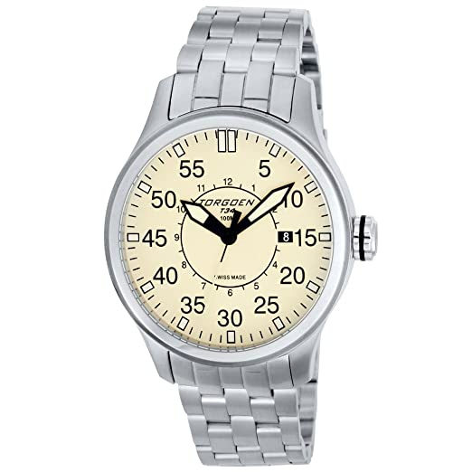 d8e00507522 Buy Torgoen Swiss Men s T34203 Pilot Watch Online at Low Prices in India -  Amazon.in