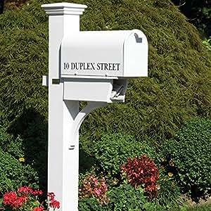 Good Directions Lazy Hill Farm Designs 999196 Duplex Cedar Mailbox Post
