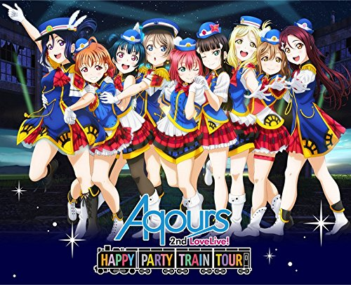 Love Live. Sunshine.   Aqours 2nd LoveLive!  Happy Party Train Tour Memorial Box DVD (Without Bonus Campaign) (Blu-ray)