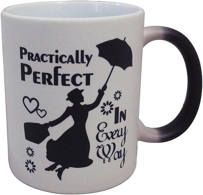 Mary Poppins - Taza de café (325 ml, ideal para todos los sentidos): Amazon.es: Hogar