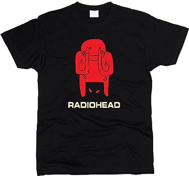 edda7cf1ccb2 Amazon.com: PrintPro Radiohead Amnesiac T-Shirt Men Regular Fit ...