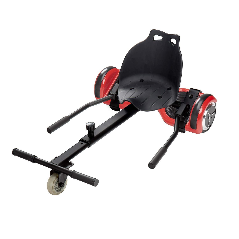 Ecogyro GyroKart Patinete eléctrico, Juventud Unisex, Negro, Talla Única
