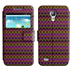 LEOCASE zigzag Funda Carcasa Cuero Tapa Case Para Samsung Galaxy S4 Mini I9190 No.1005403