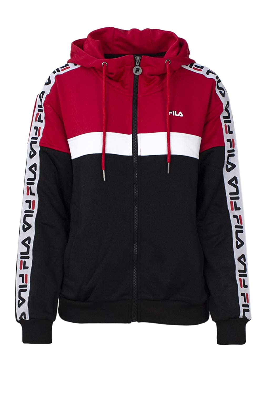 Fila Sweatshirt Damen Teela Track Hooded Zip 682322: Amazon
