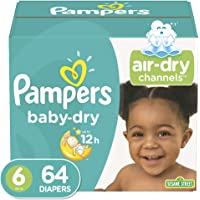 Pampers Baby-Dry Diapers Size 6 (64 Count)