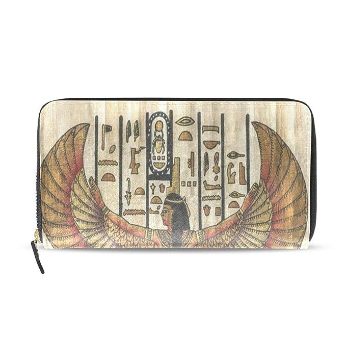 Amazon.com: Carteras para mujer, estilo antiguo egipcio de ...